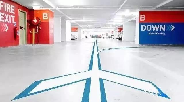 车库行车通道减震降噪地坪涂装系统(橘纹体系)